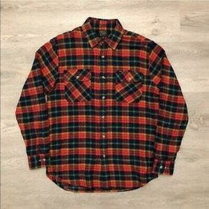 Obey long sleeve flannel.